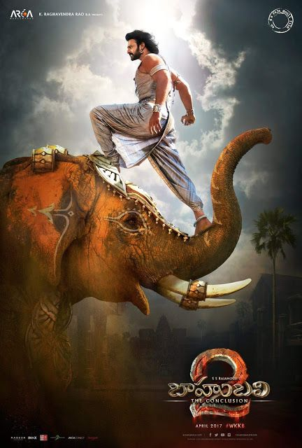 Bahubali 2 new poster prabhas uppalapati with elephant - Bahubali 2 poster hd ...