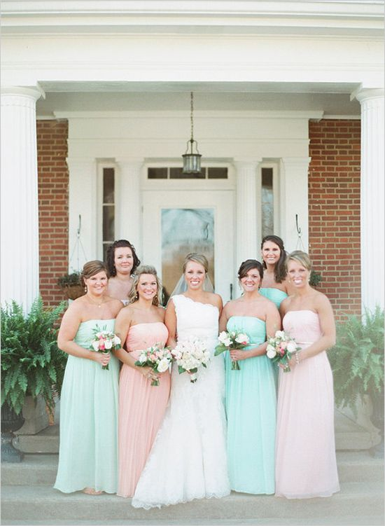 Pastel wedding! We can recreate this for you! http://www ...