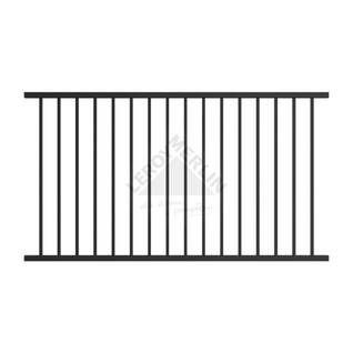 Panel Ogrodzeniowy Mile Alfen Fence Panels Metal Fence Panels Black Steel