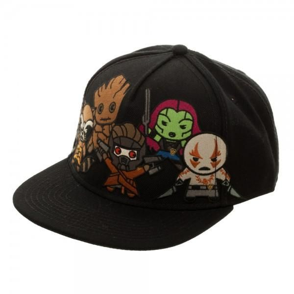 0b5a6d60f Marvel Kawaii Guardians of the Galaxy Snapback | Marvel | Guardians ...