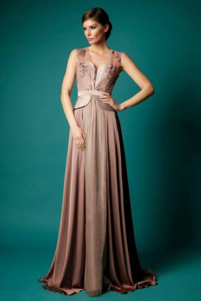 maravillosos vestidos de noche | moda otoño - invierno | vestidos