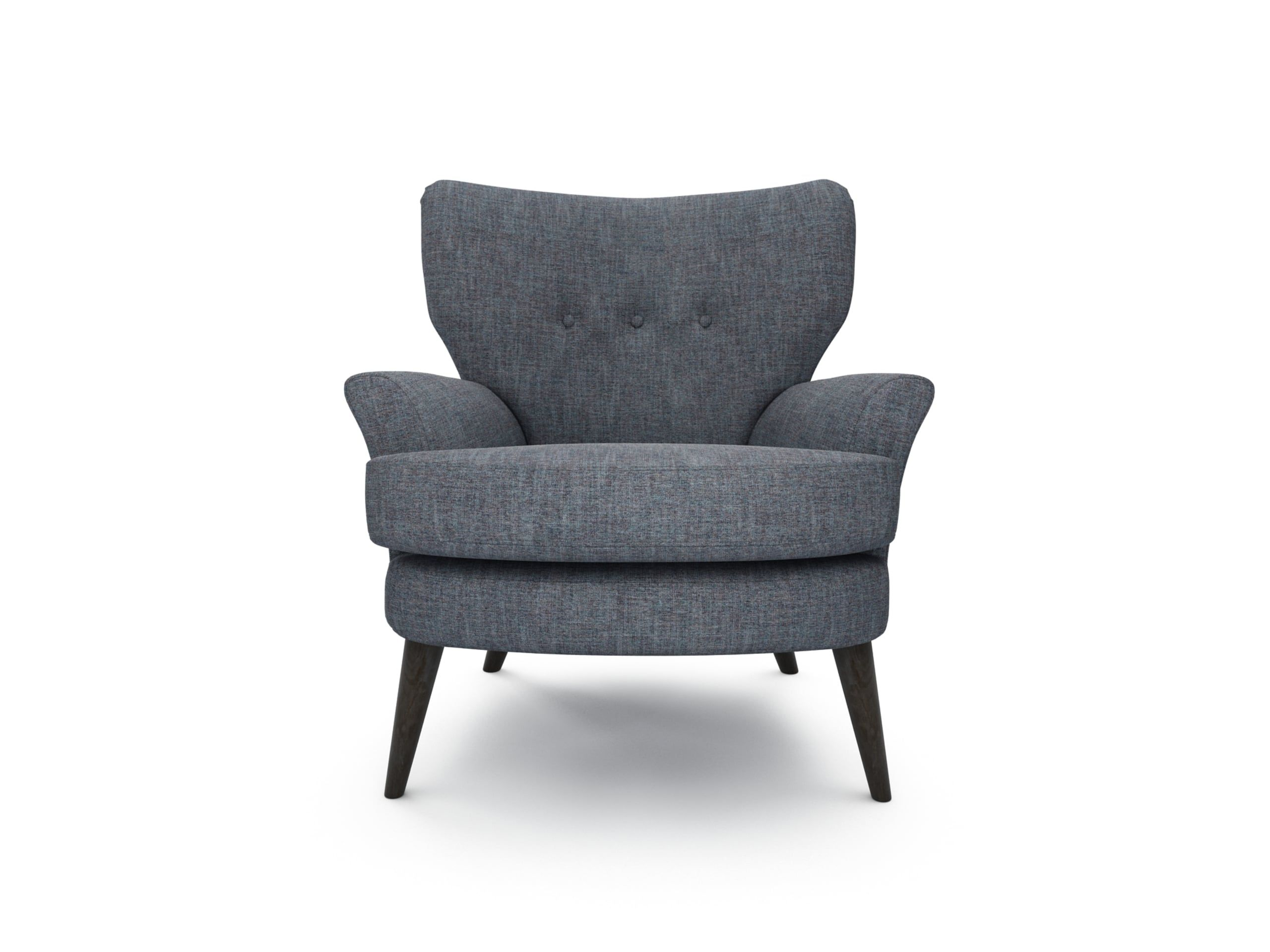 The Lounge Co. Noah Chair in Family Friendly Kaleidoscope Weave