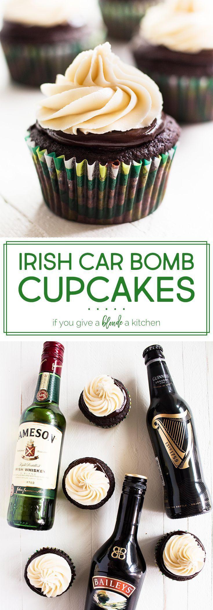 Photo of Irish Car Bomb Cupcakes – #Bomb #Car #Cupcakes #Irish