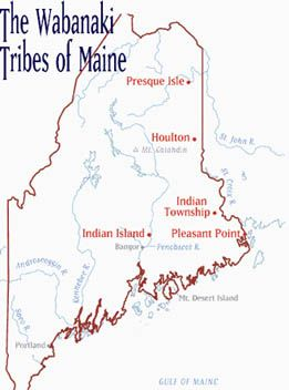 native american sites in maine