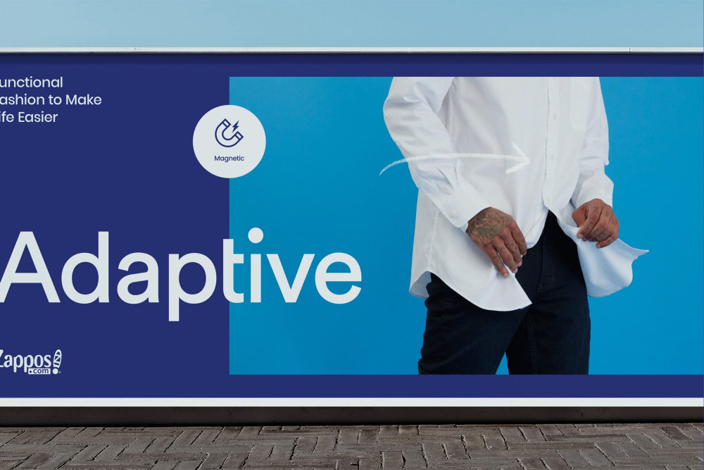 Brand New New Logo And Identity For Zappos Adaptive By Eric Todd Identity Logo Old Logo Identity