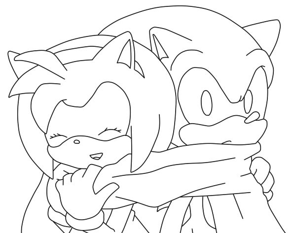 Sonic and Amy Love by SonicTheHedgeSantos on DeviantArt | SONIC ...