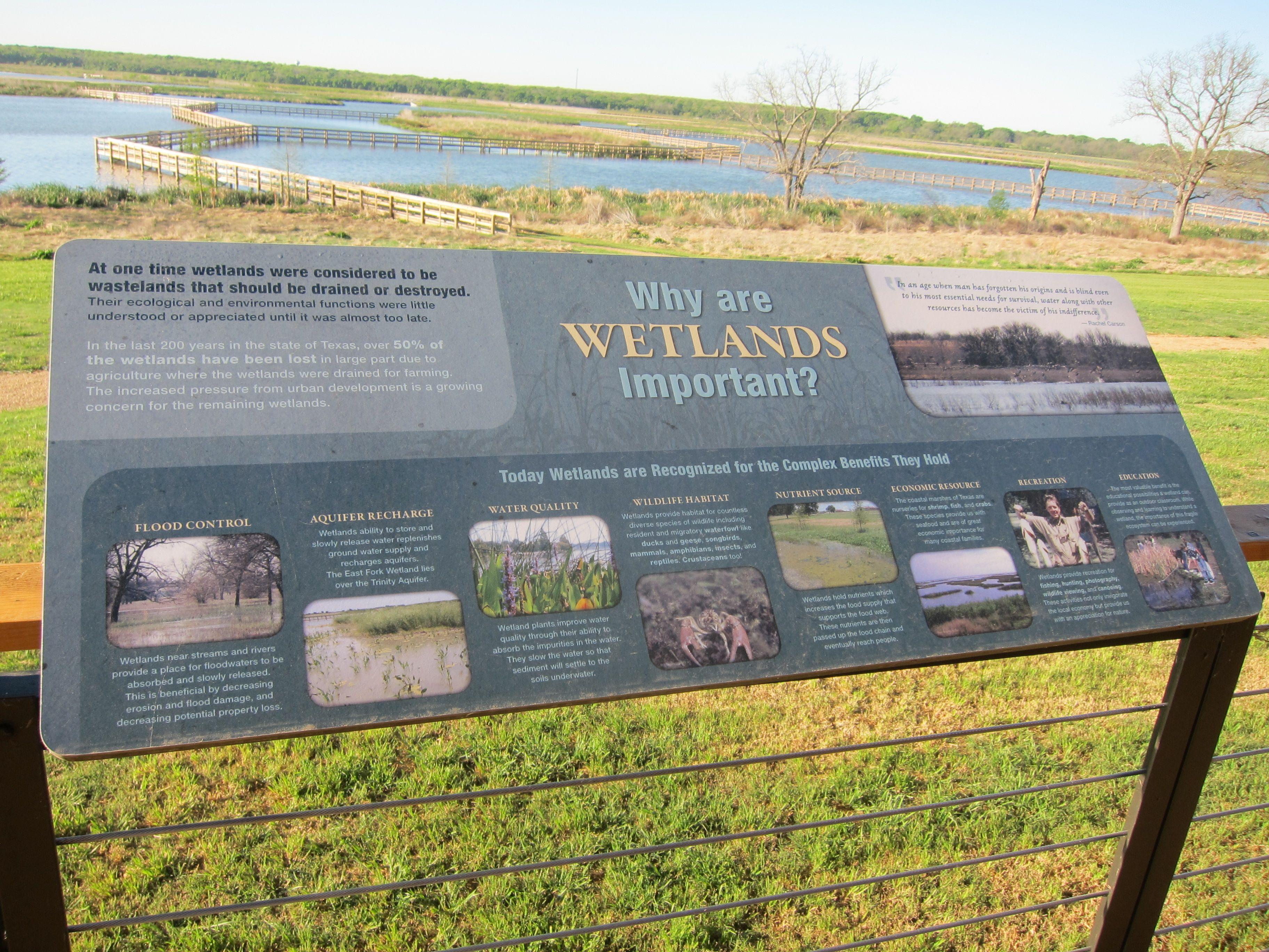 Wetland Signs Etlands Information Sign At John Bunker Sands Wetland Center Photo Wetland Sand Bunker