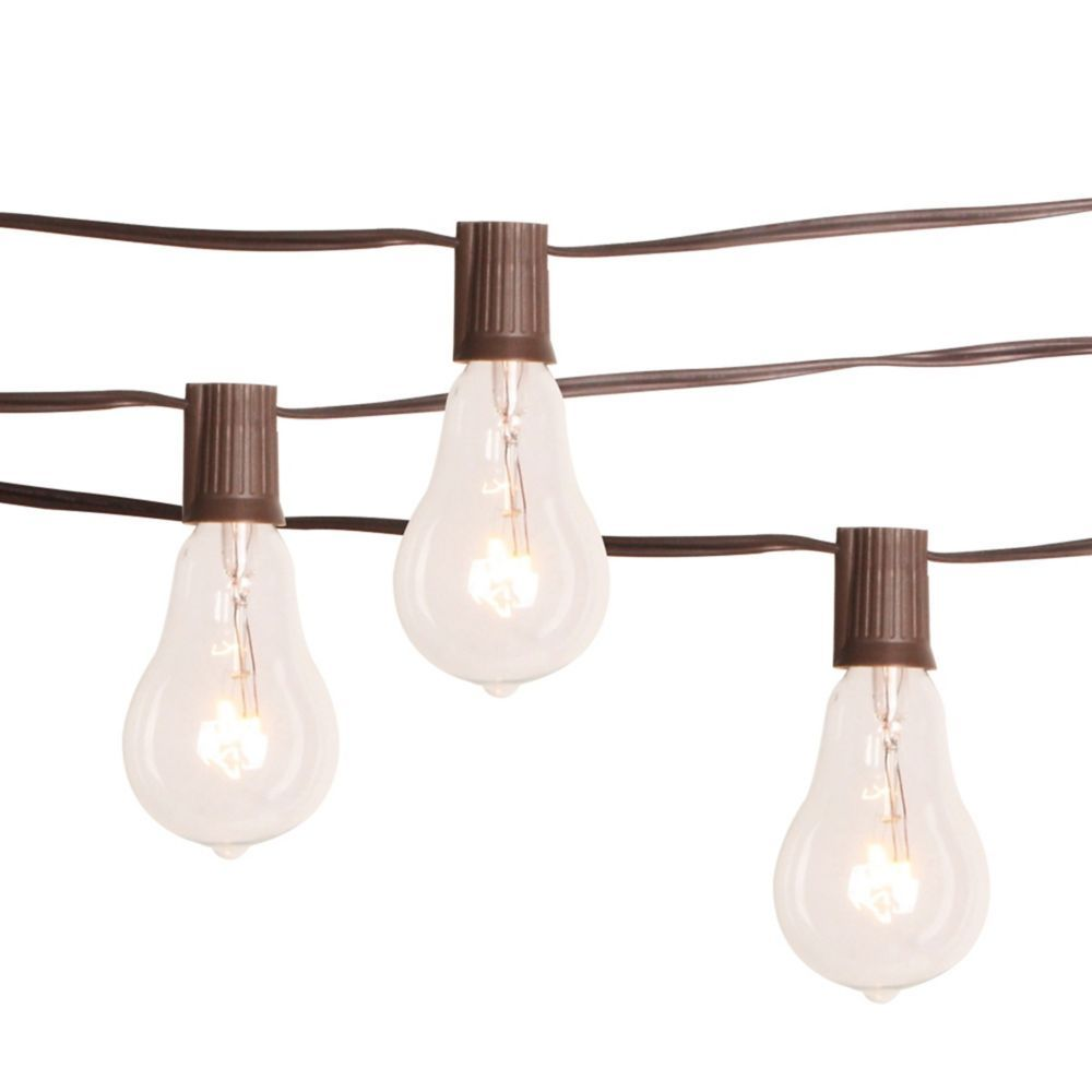 The Home Depot Edison Bulb String Lights
