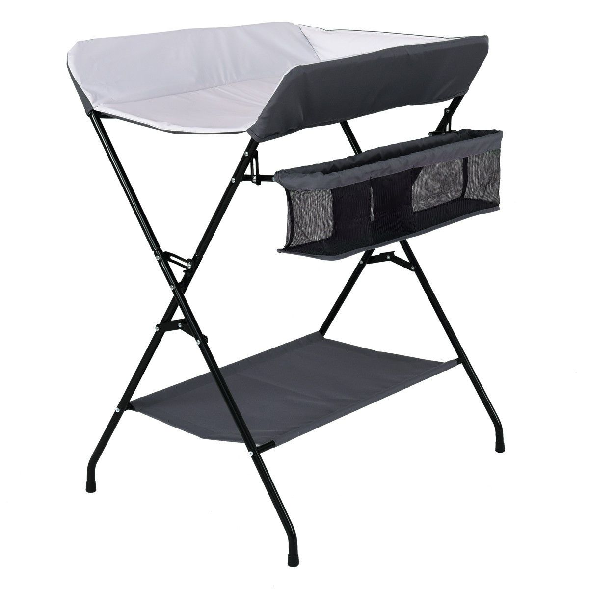 - Baby Storage Folding Diaper Changing Table (With Images) Baby