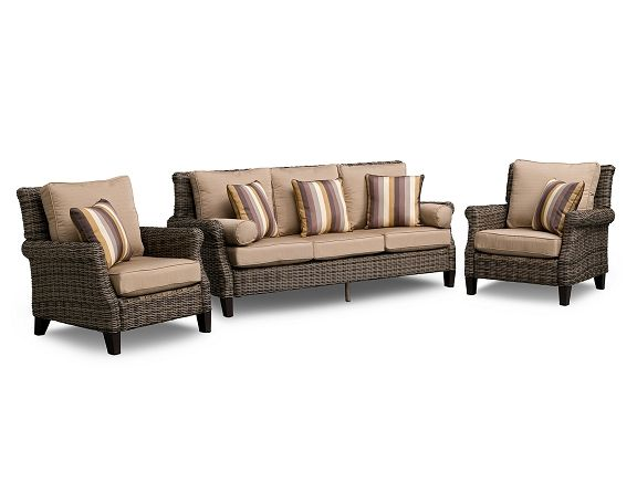 Beautiful American Signature Furniture   Dover Outdoor Furniture Collection Sofa  $999.99