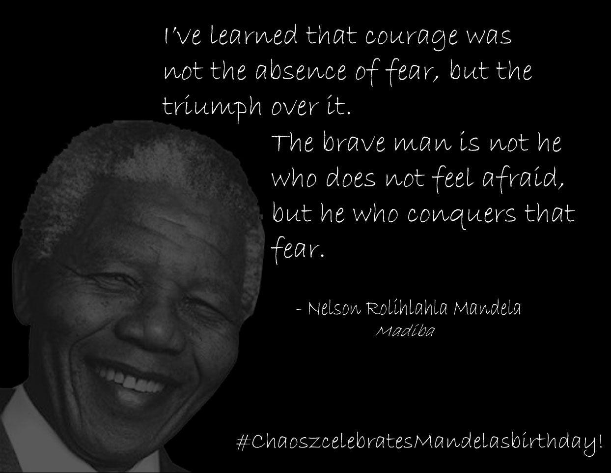 Nice Nelson Mandela