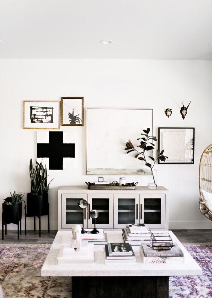 Living room interior design decor modern farmhouse