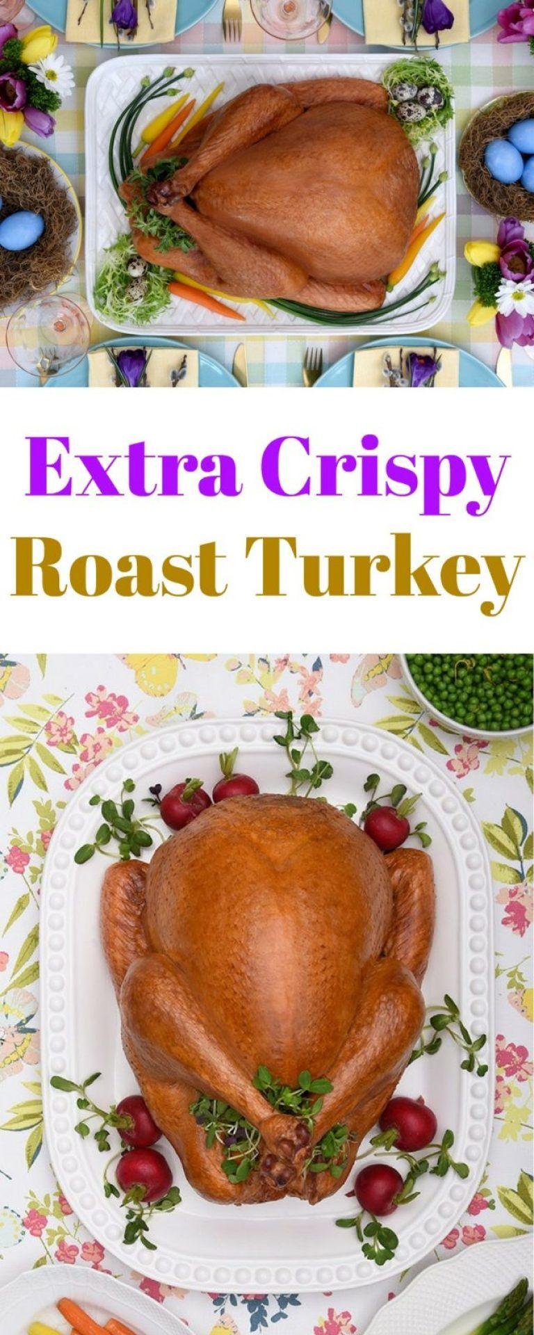 Crispy Roast Turkey Recipe Ottawa Mommy Club Recipe in
