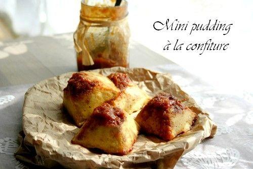 Mini – pudding à la confiture | Miam Chouchie