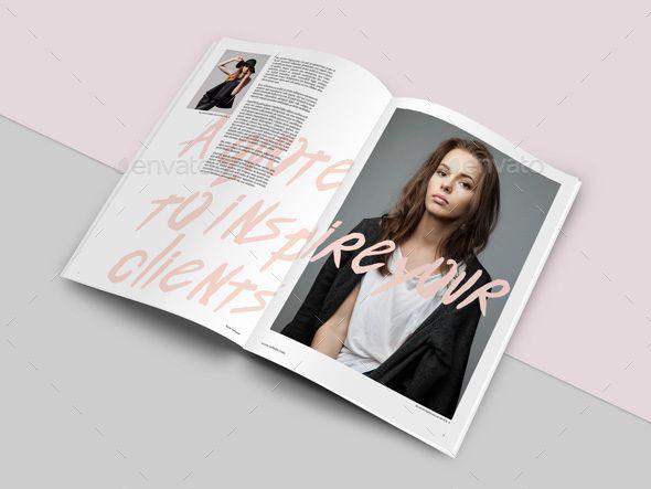Fashion Lookbook Template | Fashion lookbook and Brochure template