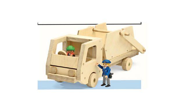 kipper selber bauen kinderspielzeug selbst bauen und lkw. Black Bedroom Furniture Sets. Home Design Ideas