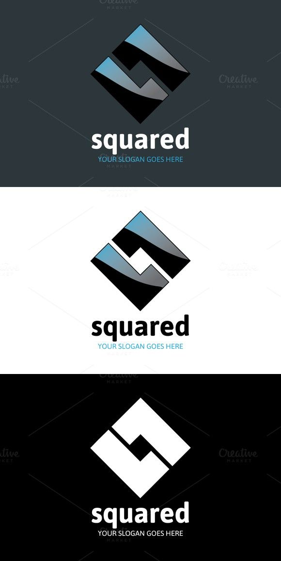 Squared Logo - Letter L | Logo Templates | Pinterest | Logos, Logo ...