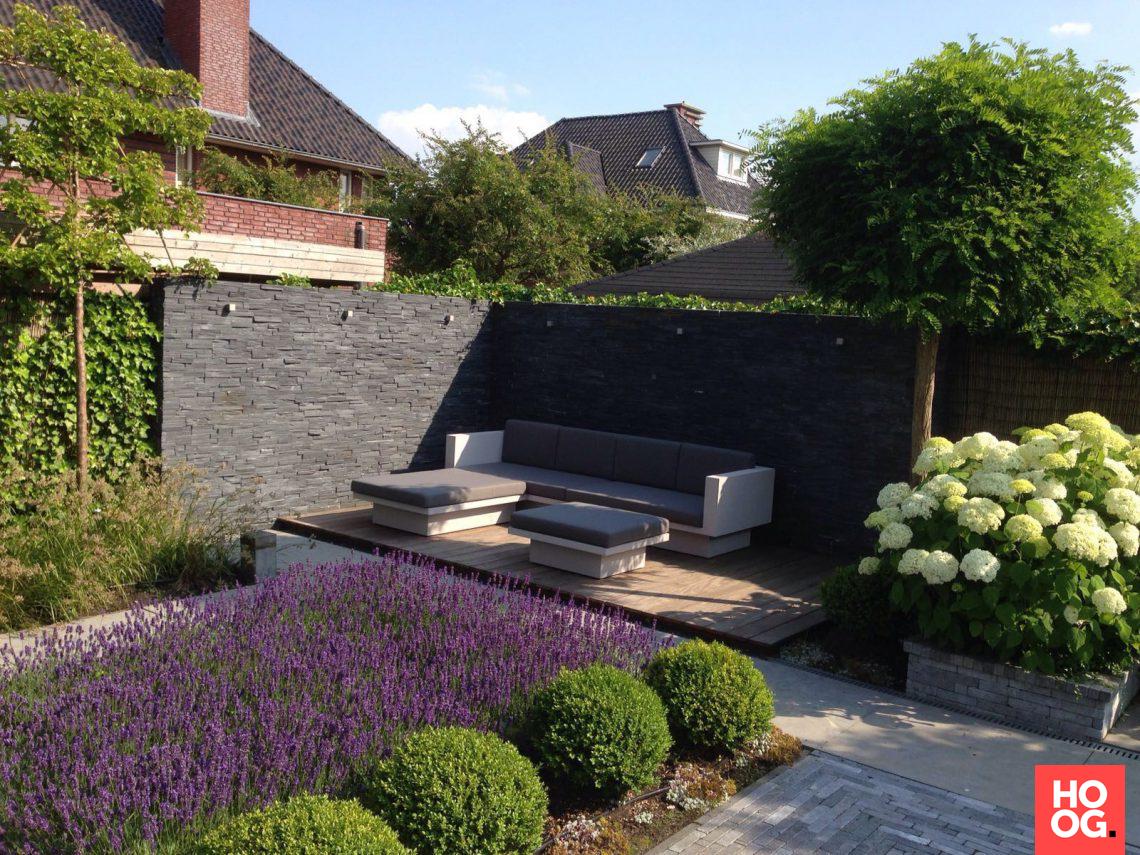 Stam hoveniers tuin met lounge hoog □ exclusieve woon en