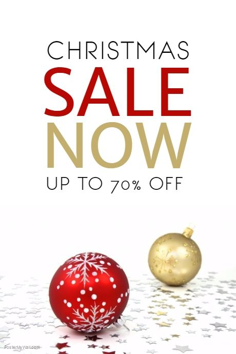 Christmas Sale Flyer Template PosterMyWall Christmas Retail - for rent flyer template