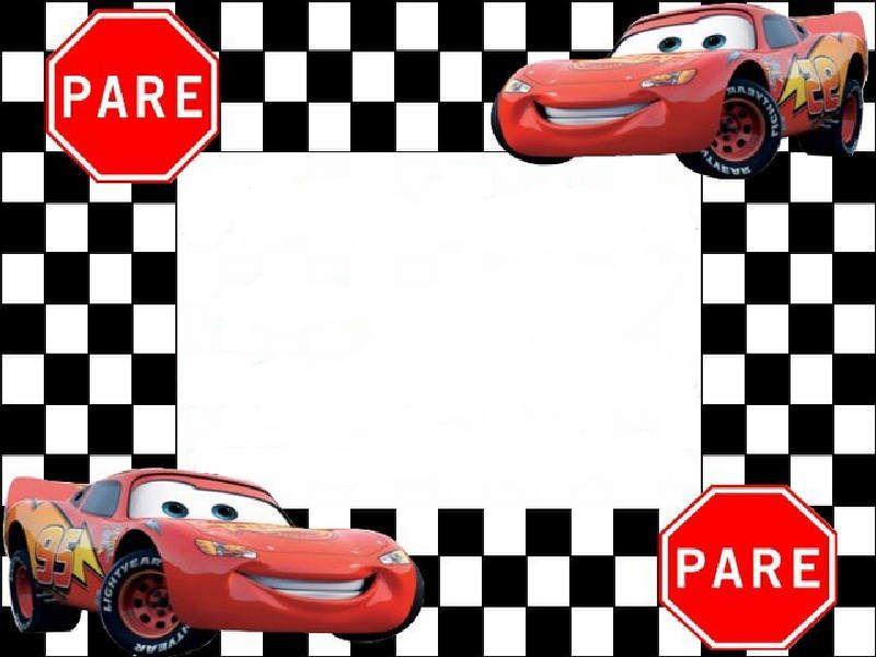 Invitaciones De Cumpleaños De Cars En Hd Gratis Para Bajar