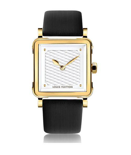 Découvrez la montre Emprise Or Serti de Louis Vuitton - Mouvement   Quartz  - Boîtier   Or jaune. tentation-mode-montre-emprise-louis-vuitton c5fb3dfbdad