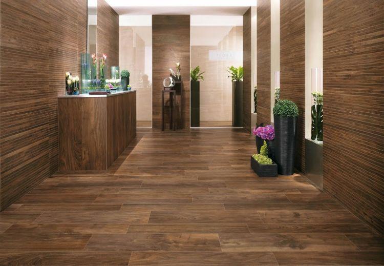 Badfliesen In Holzoptik - Moderne Badgestaltung Mit Natur-element ... Badgestaltung Fliesen Holzoptik