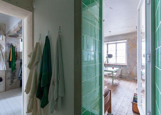 #Wohnungen Clever Renovierte Kleine Wohnung Hält Unfertige Putzwände  #dekoration #house #decoration #
