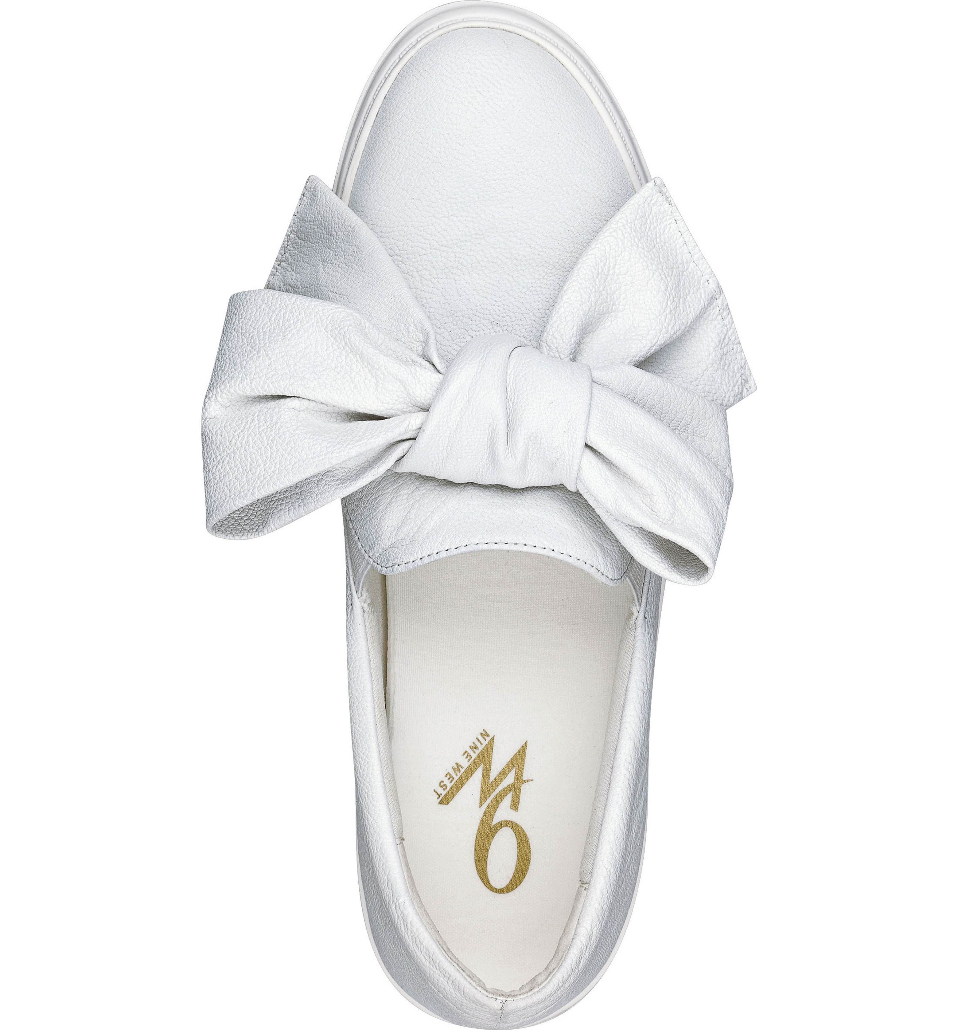 Nine West Onosha Bow Slip-On Sneaker