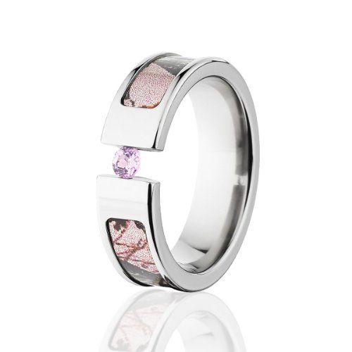 womens camo wedding ring amazoncom - Camo Wedding Rings For Women