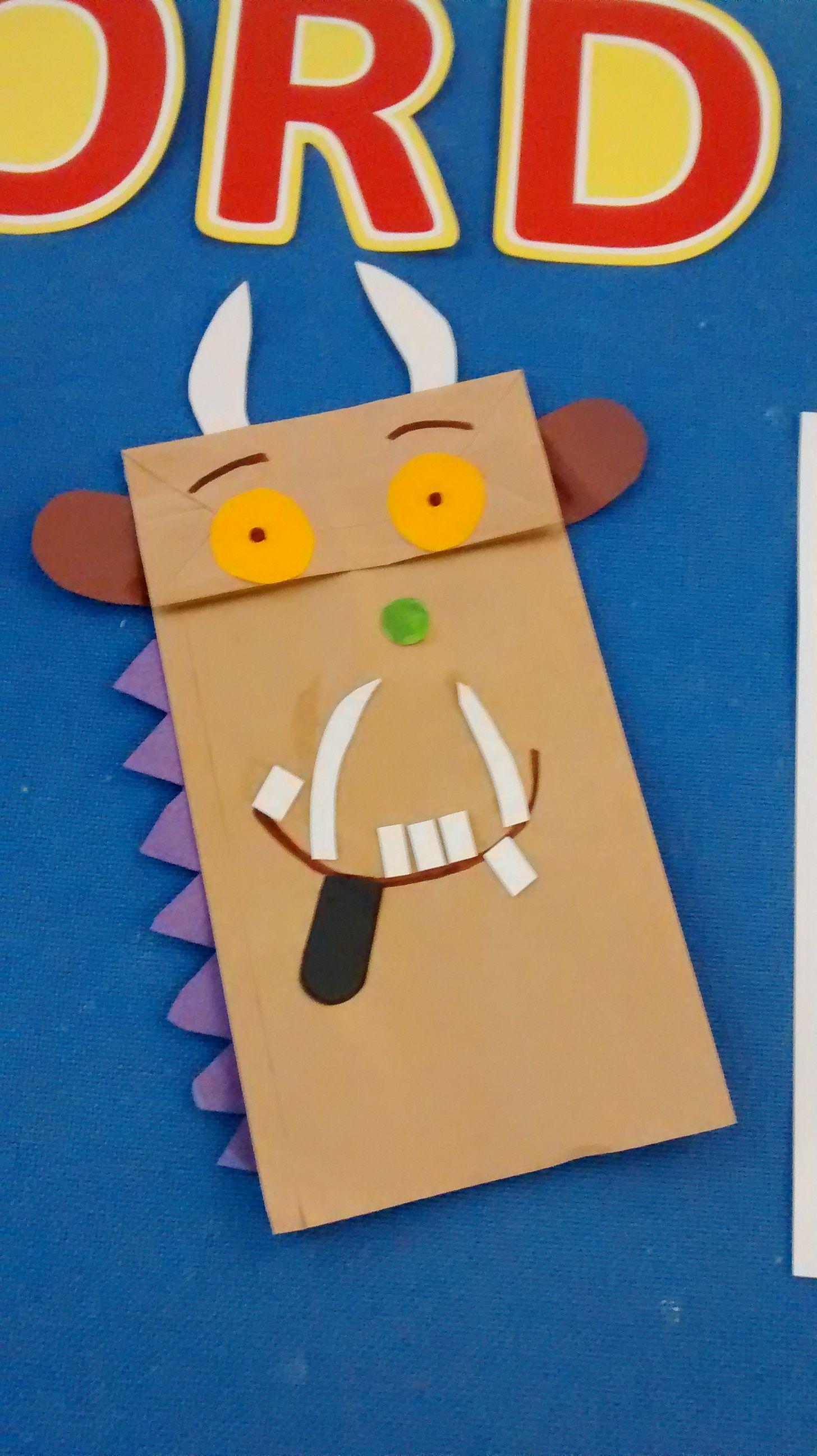 Gruffalo Paper Bag Puppet