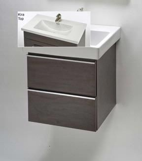 """Empire Industries Empire Mirage 30"""" Wall-Hung Vanity WMK30-02 :: Bath Vanity from Home & Stone"""