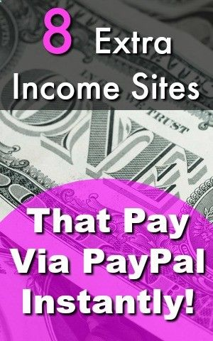 Are You Interested In Making Extra Money online? One of the worst parts is waiting for your earnings, but not with these sites! Herere 8 Sites That Pay Via PayPal Instantly!