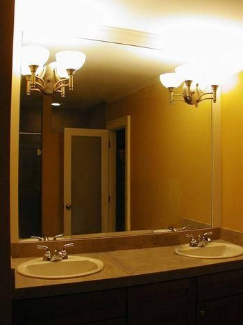 Plate Glass Mirrors With Cutouts For Light Fixtures Glass Closet Bathroom Mirror Mirror