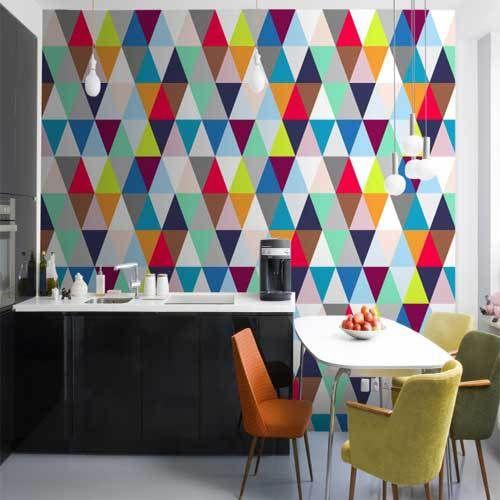 Pin von Valeria Tsareva auf Triangle | Pinterest | Geometrische ...