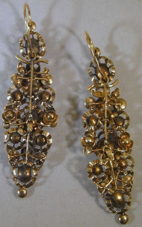 Antique 19th Century Spanish Earrings