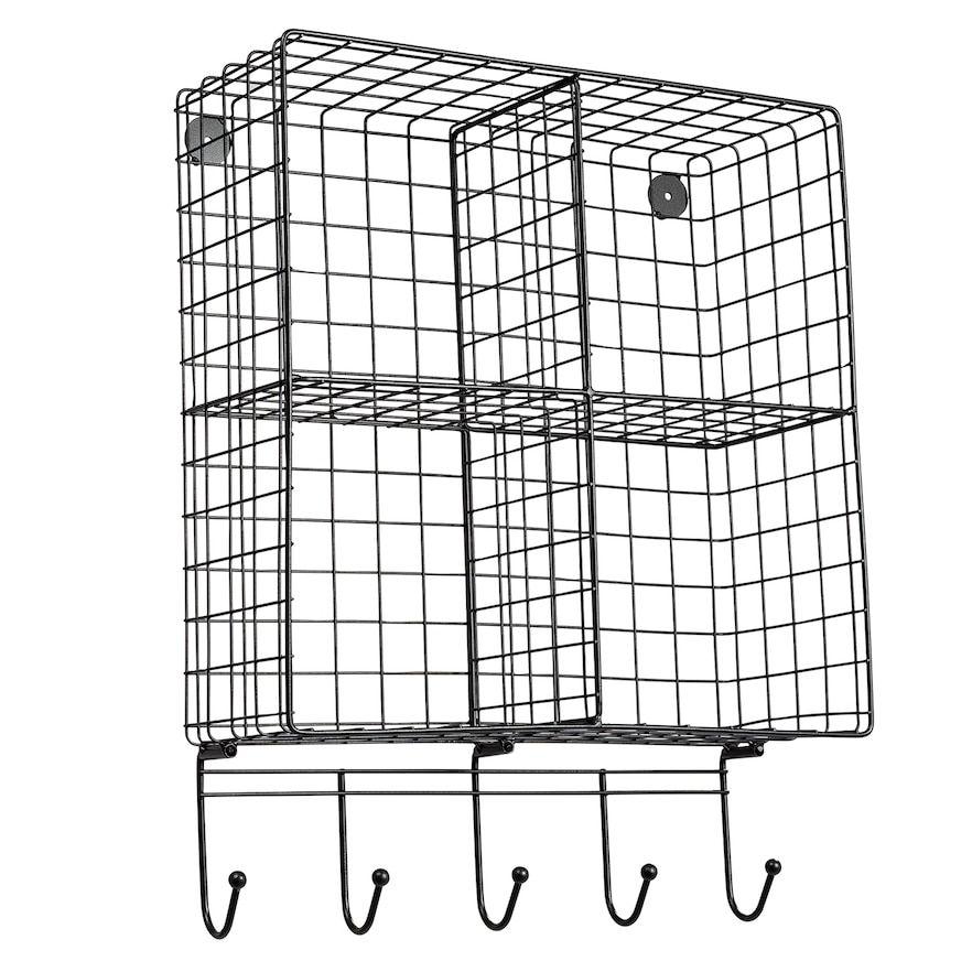 Honey-Can-Do 4-Cubby Wall Shelf