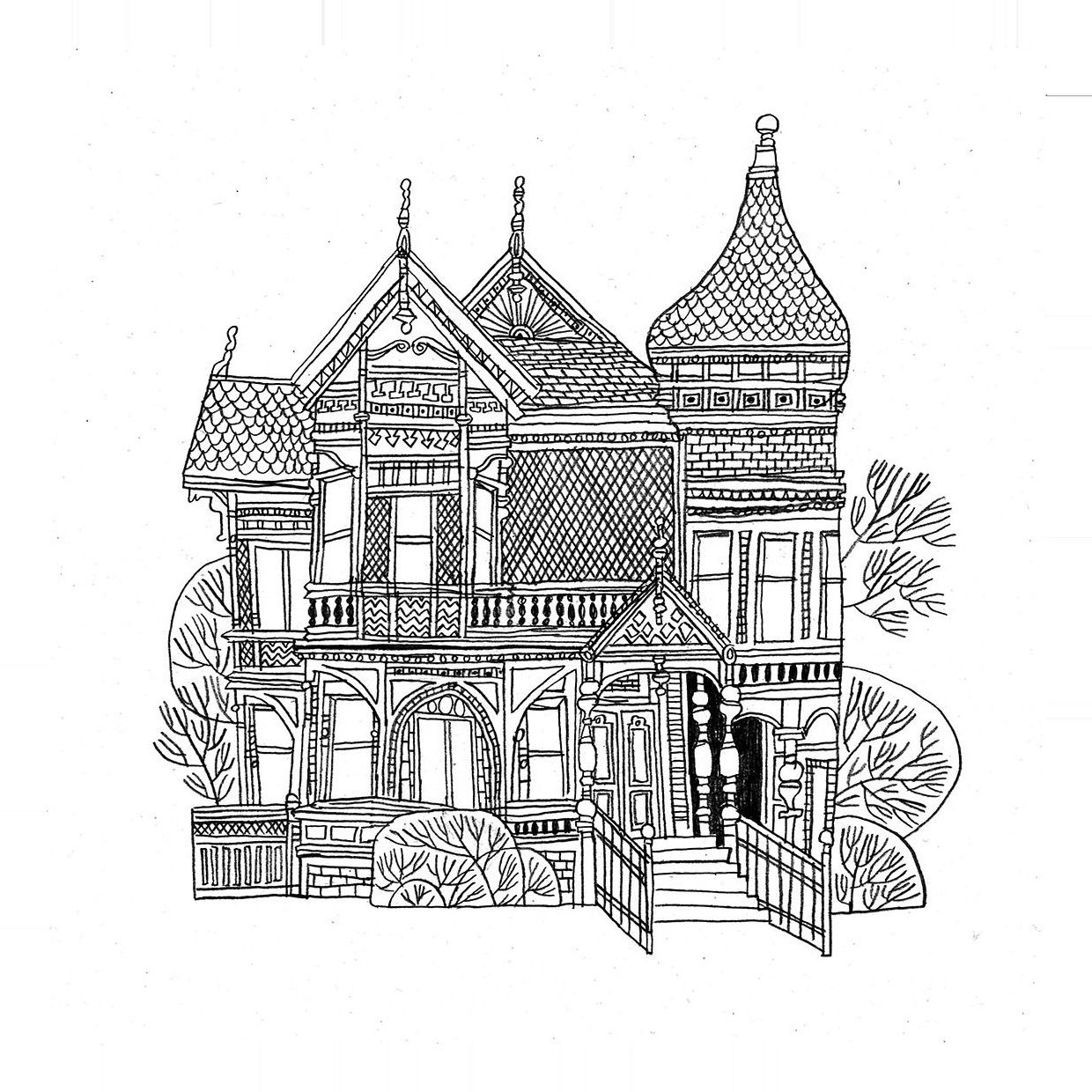 Leslie Berland #house #maison #home #victorian #victorianera #victorienne #epoque #oldhouse #vieillemaison #trees #arbres #garden #jardin #architecture #welcomehome #illustration #drawing #dessin #art #doodle #croquis #sketch #sketchbook #blackandwhite #noiretblanc #artwork Informations About leslie berland Pin You can easily use my profile to examine different pin types. leslie berland pins are as aesthetic and useful as you can use them for decorative purposes at any time and add them to your