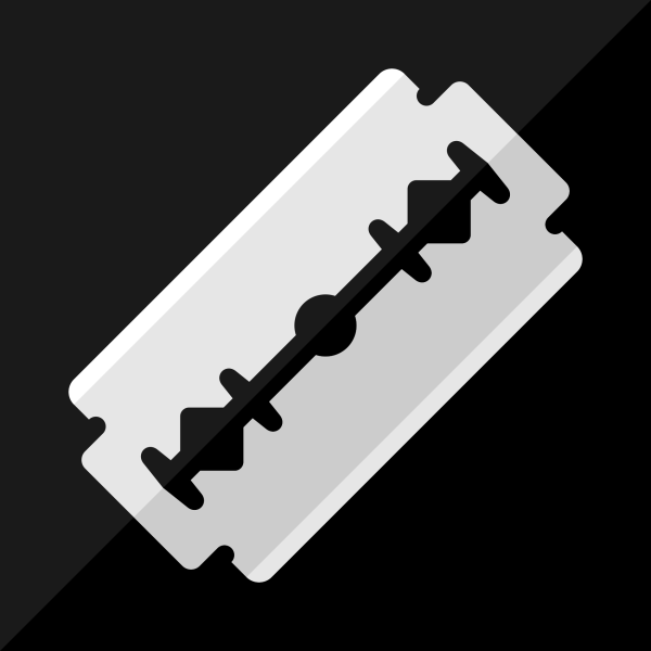 Razor Blade Flat Vector Icon Free Vector Graphics Download Free Vector Clip Art Packs Simple Background Images Vector Icons Free Iphone Background Images