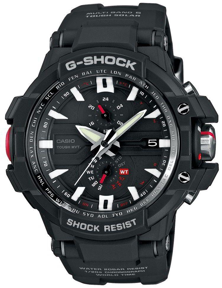 Casio Uhr G Shock Gw A1000 1aer Funk Solar Uhr Pilotenuhr Casio Uhr Casio G Shock Uhren