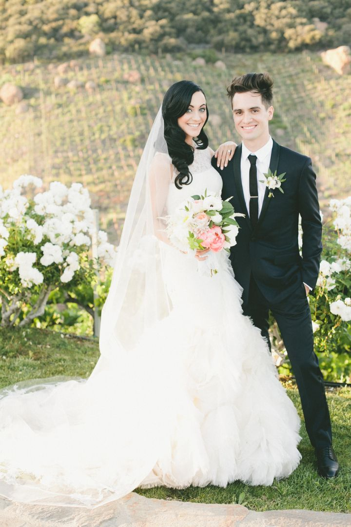 Charming Malibu Wedding Modwedding Brendon Urie Wedding Brendon Urie Malibu Wedding