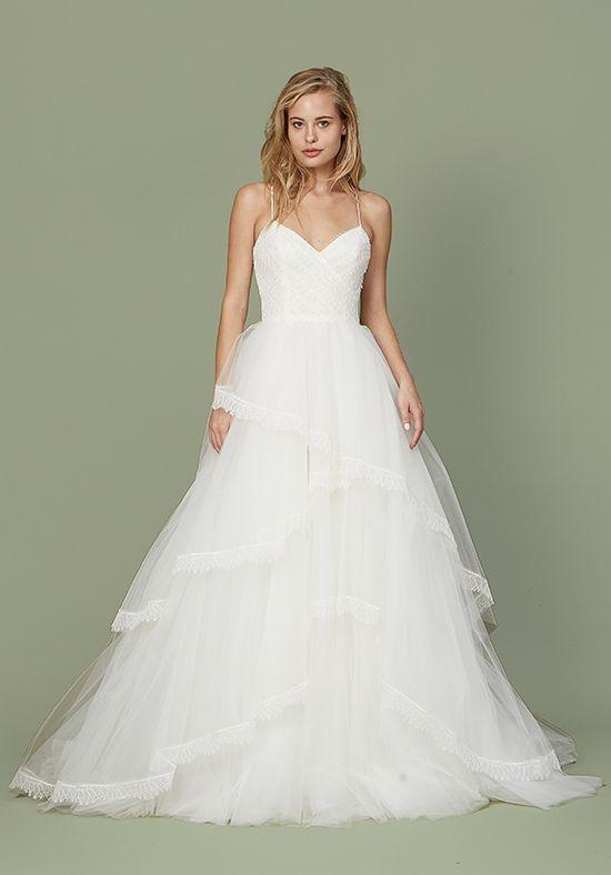f90521a35a7 Christos Bea Ball Gown Wedding Dress