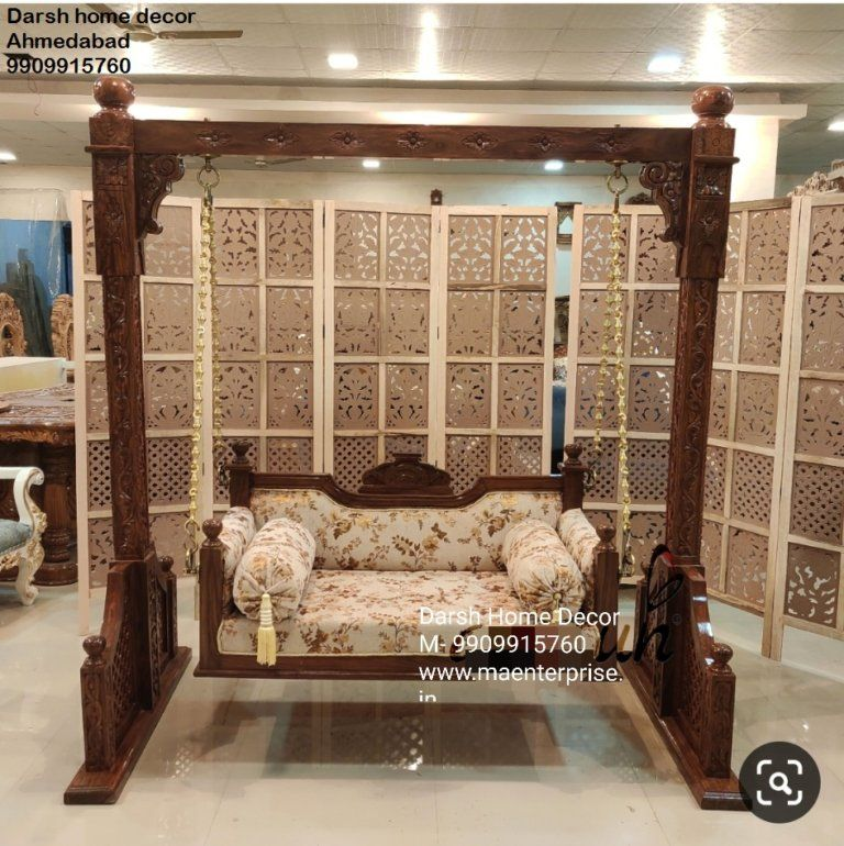 Indian Swing For Living Room With Modern Look Can Hold 400kg Weight In 2020 Indian Swing Bed Furniture Design Indoor Swing #swings #for #living #room #india