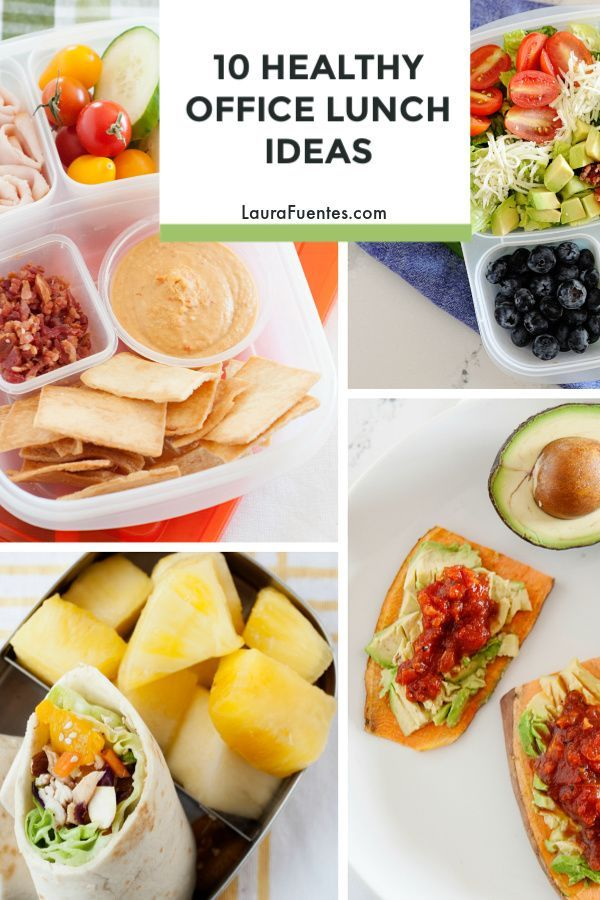 Need healthy and fast office lunch ideas that are grown-up worthy and that you can prep ahead? Eat healthier and save money on buying lunch with these 10 ideas.