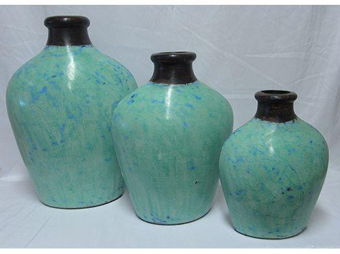 Tiga Vase Sea Foam Large 79 Medium 69 Small 49 Homewares