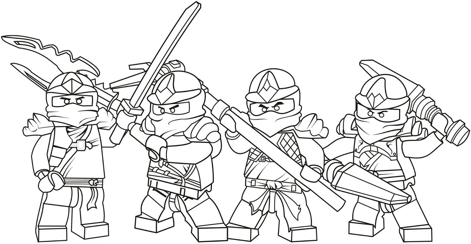 coloring pages chima Lego Ninja Go Coloring Pages 8