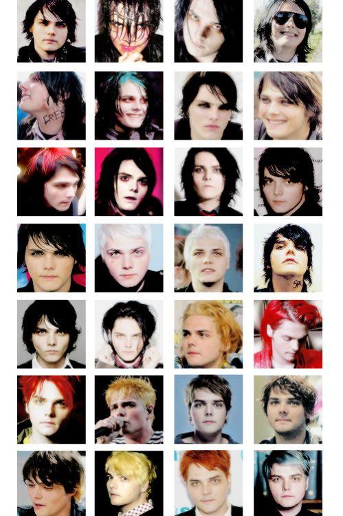Gee Through The Years My Chemical Romance Pierce The Veil Gerard Way