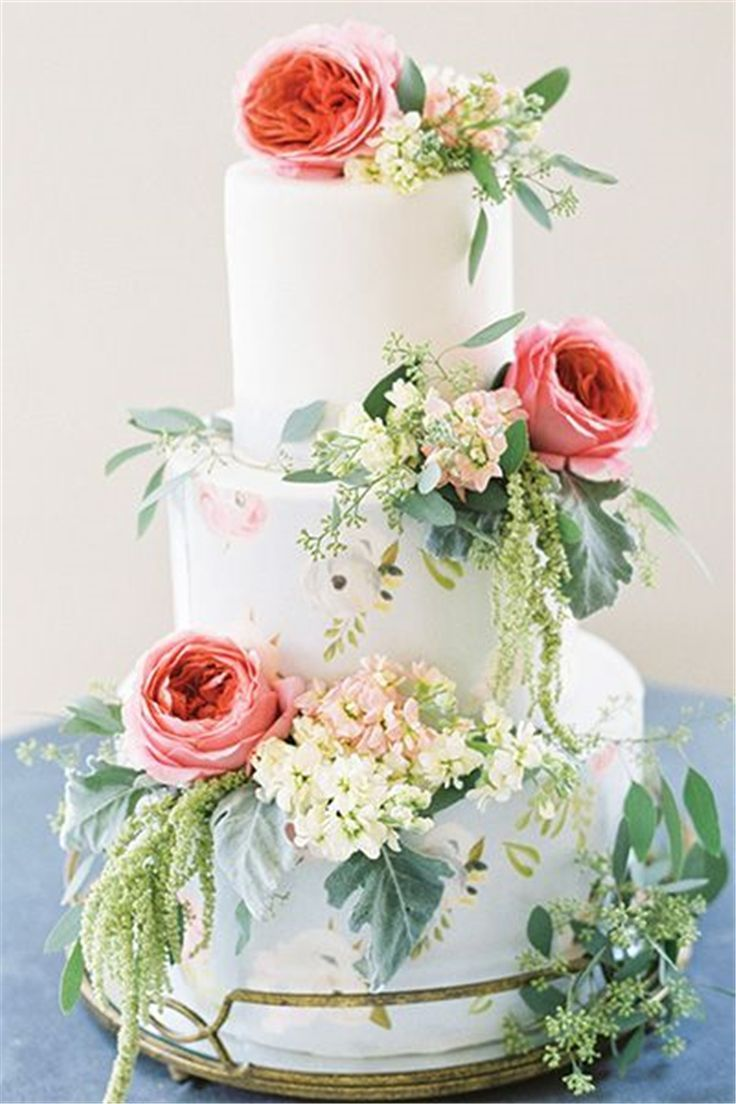 50 Gorgeous Wedding Cake Inspiration For Your Big Day