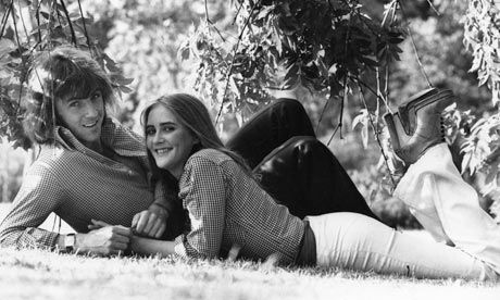 If Stan Bowles wasn't playing football or in a betting shop, he was almost certainly lying under a tree. Photograph: Evening Standard/Getty Images