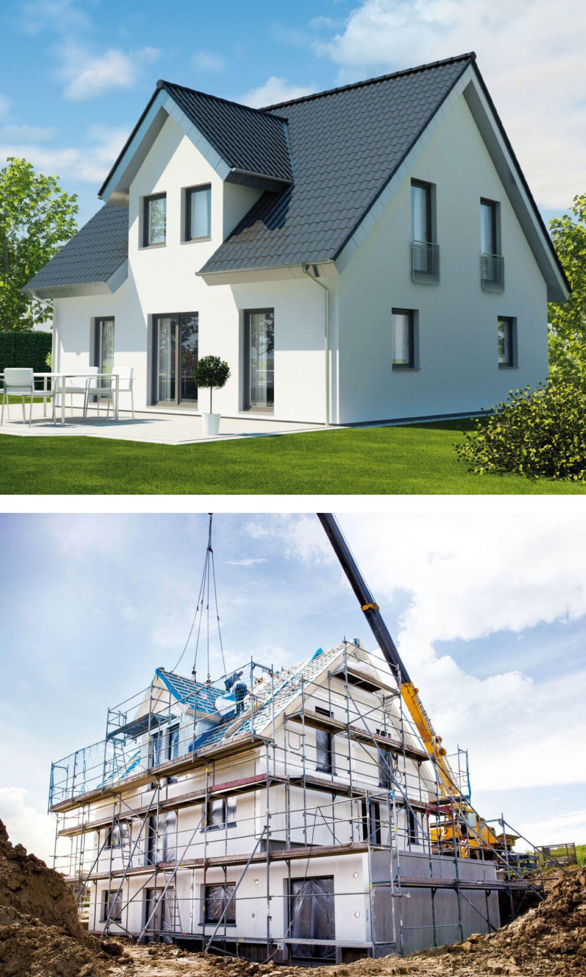 Individuelles fertighaus massiv bauen architektenhaus for Architektenhaus bauen
