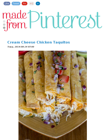 cream cheese chicken taquitos in the slow cooker, how easy is that?
